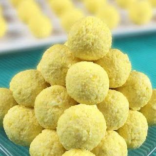 Lemon Cheesecake Balls.