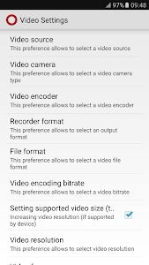 Secret Video Recorder SMS screenshot 2