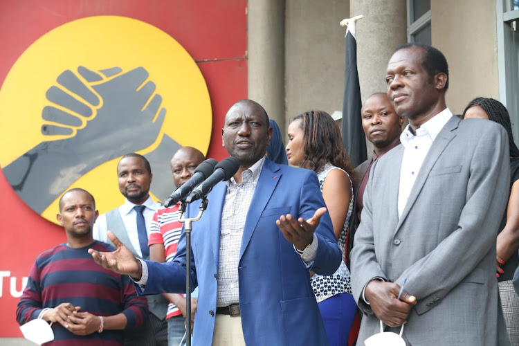 Ruto wanted Jubilee party to contest in Msambweni by-election