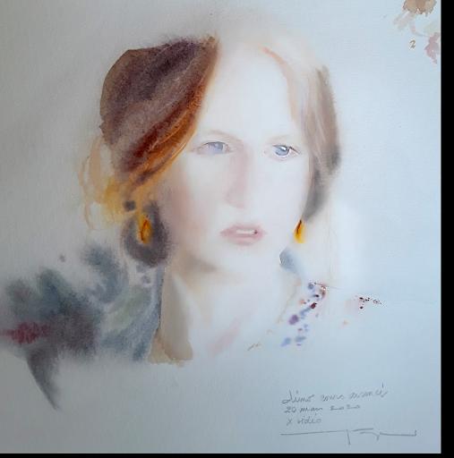 aquarelle Jeanne PAPA Démo
