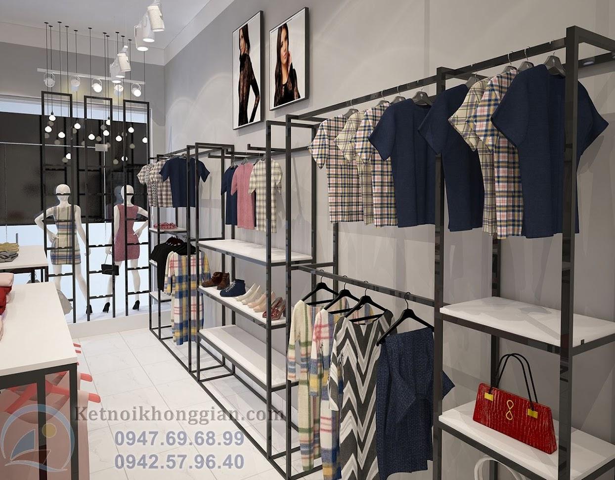 thiết kế shop thời trang công sở nữ đẹp nhất bắc ninh