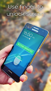 Fingerprint Lock Screen Prank- screenshot thumbnail