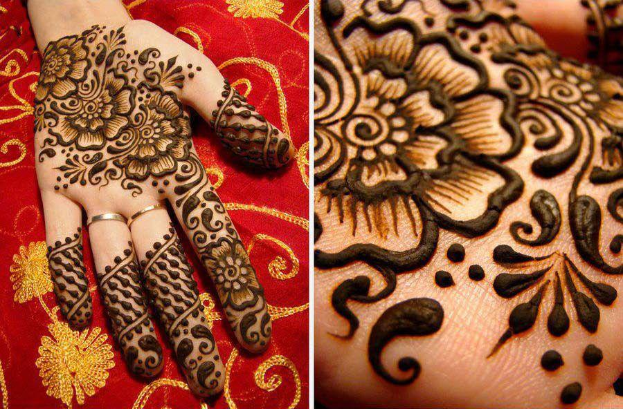 Wedding mehandi design images