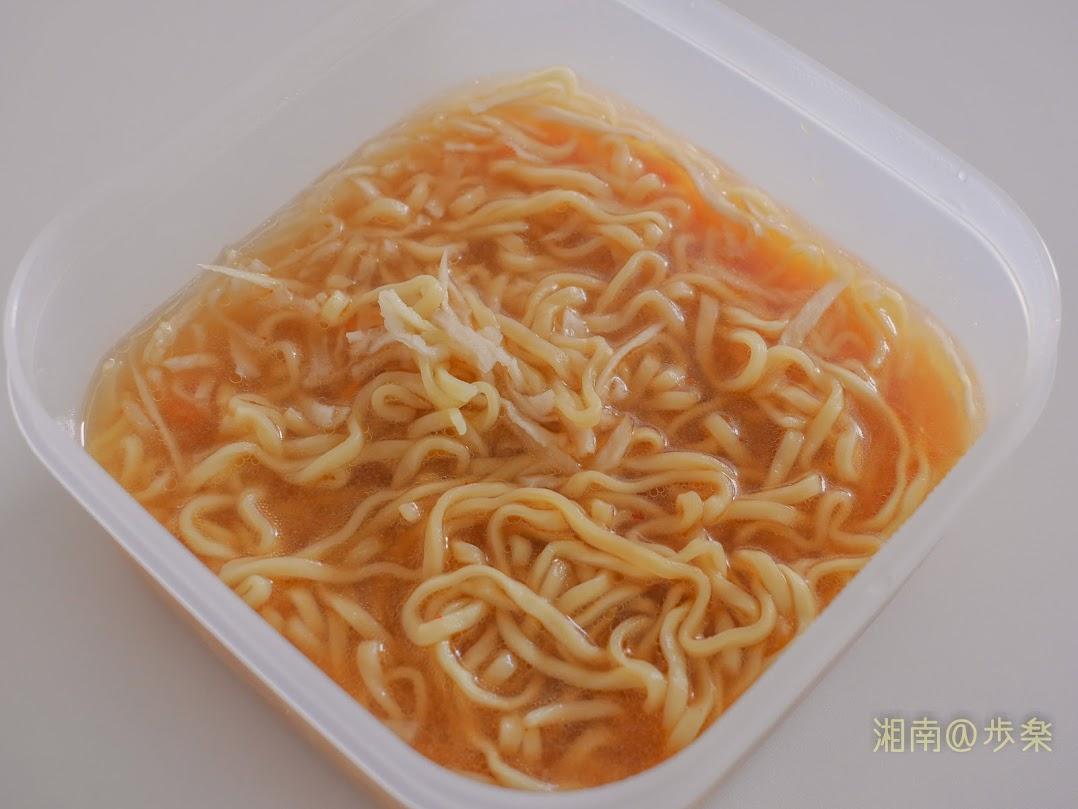 日清ラ王 味噌 レンチンしても麺のコシがなくならない・・・もうカップ麺は不要だよ