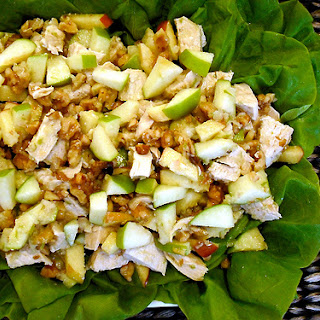 Summer Chicken Salad with Green Apple Vinaigrette