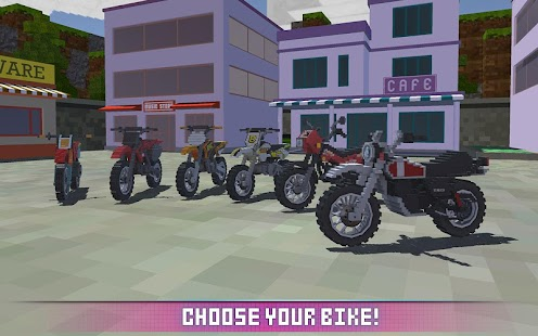Blocky Motorbike SIM 2017 screenshot