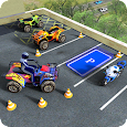 ATV Quad Bike Parking Simulator Games