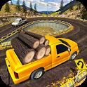 Uphill Cargo Pickup Truck Driving Simulator 2017 icon