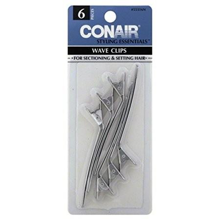 clips conair para ondas de cabello 6und