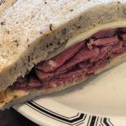 #10 Hot Pastrami (Half Sandwich)