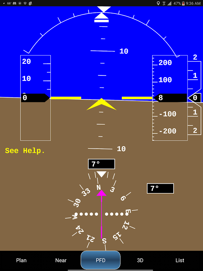 Xradio ADS-B Receiver- screenshot