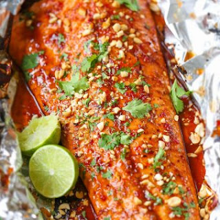 Thai Salmon in Foil