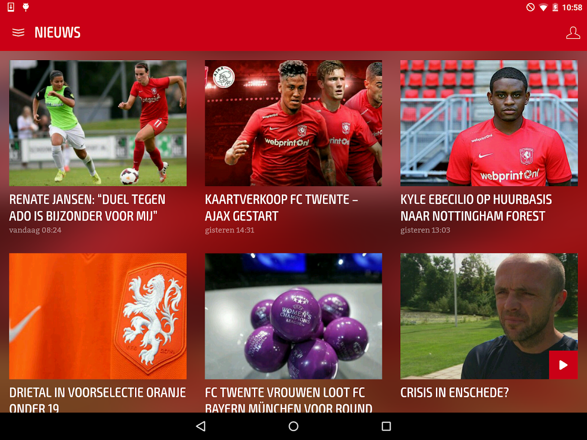 FC Twente- screenshot