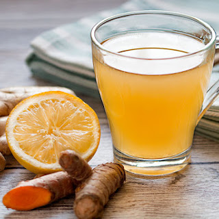 Ginger Tea - A Natural Cold Remedy.