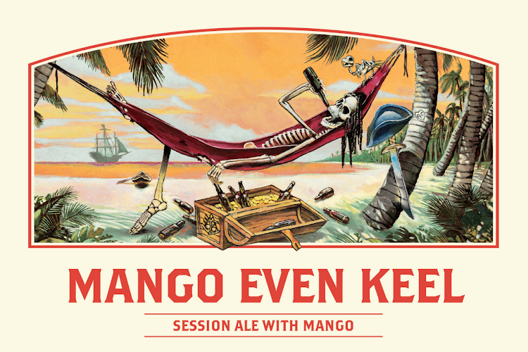 Logo of Ballast Point Even Keel Mango Session IPA
