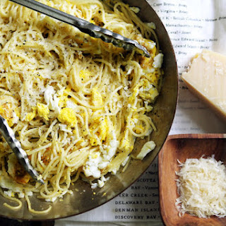Spaghetti With Fried Eggs