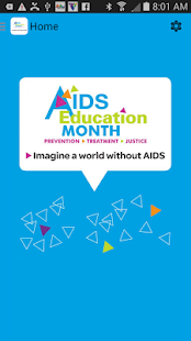 AIDS Education Month- screenshot thumbnail