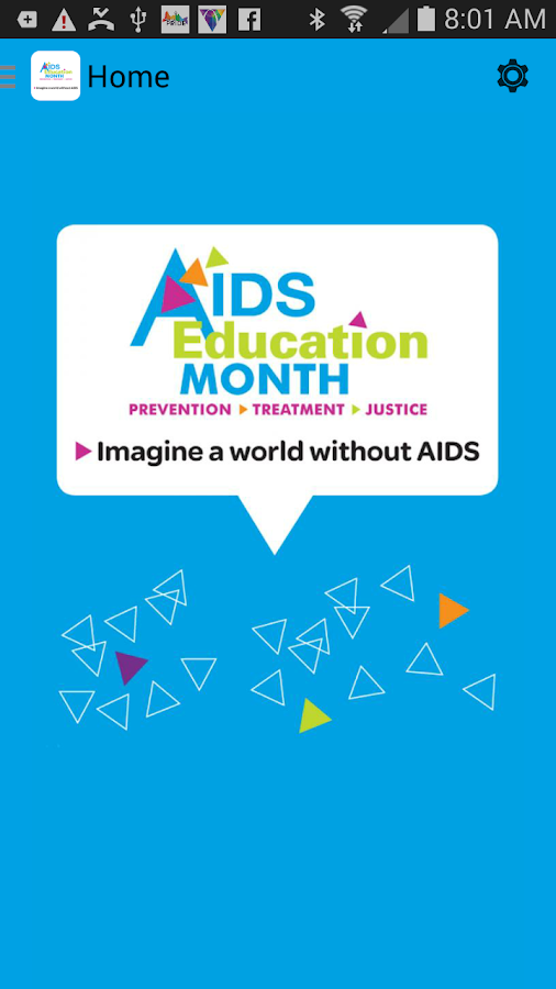 AIDS Education Month- screenshot