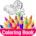 Images Princess Coloring Book icon