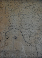 """Photo: from Benjamin Donn's Map of Devon 1765  """"Apart from the Ordnance Survey [published 1809], two cartographers have produced one inch to the mile maps of Devon: Benjamin Donn whose Map of the county of Devon was published in 1765 ..... and C. and J.Greenwood's Map of the county of Devon from an actual survey made in the years 1825 & 1826""""    http://www.devon.gov.uk/index/cultureheritage/libraries/localstudies/devonmaps.htm  I was lucky enough to find this page from an original copy of Donn's 1765 map many years ago when we had just bought a cottage in Winkleigh (a small village in mid-Devon that is on the map, top centre) and couldn't resist it (the shop also had other pages - they seemed expensive at the time, but I regret not buying them).  It was pure serendipity that it also covers our current location - and a good many of the Dartmoor towns and villages covered by this album.  Comparing place names and spellings is always fascinating. The map hangs in our living room, and my eyes often go to it."""
