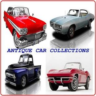 Sbírky starožitných automobilů - náhled
