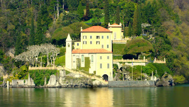 Photo: Villa Balbianello as viewed from the lake.
