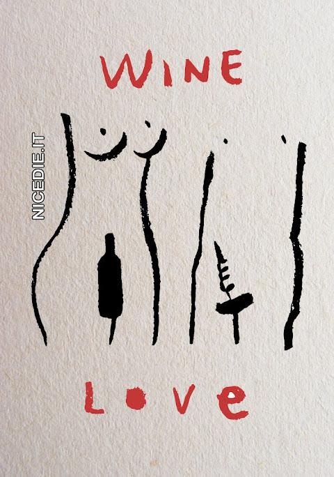 un disegno di un uomo e una donna l'uomo ce l'ha a forma di cavatappi la donna a forma di bottiglia