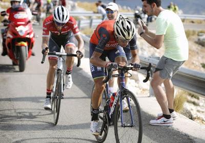 Wat een baas! Nibali reed Vuelta uit met breuk