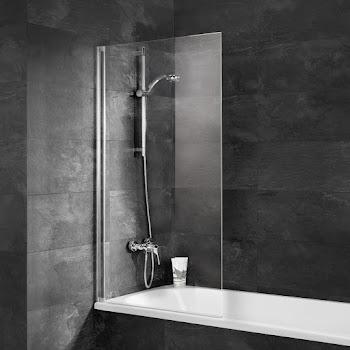 Pare-baignoire Capri, 130 cm, 1 volet