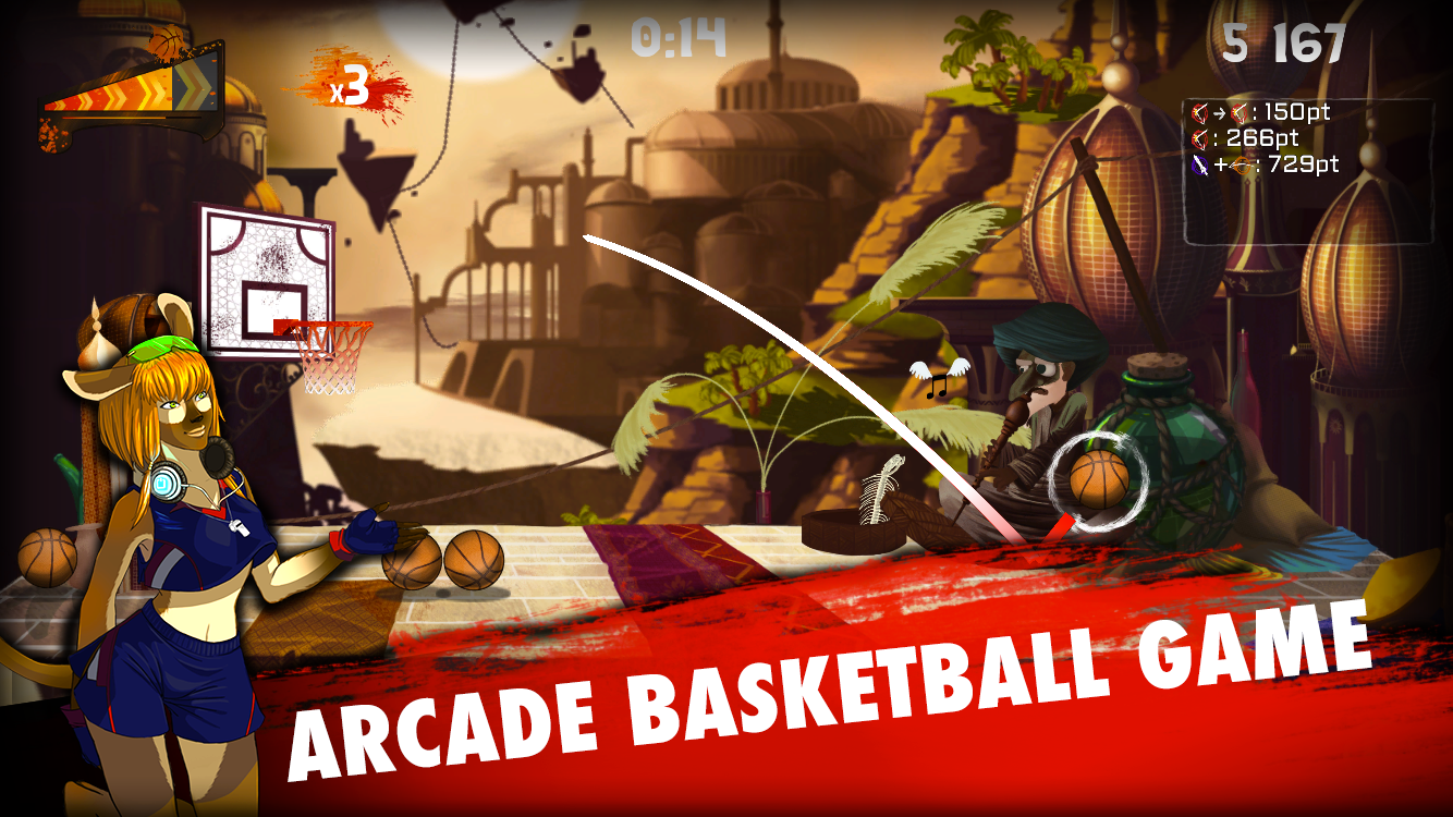 Tip-Off BasketBall 2- screenshot