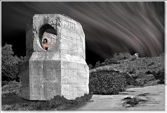 Photo: Juchnelda am Bunker