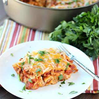 Simple Skillet Lasagna