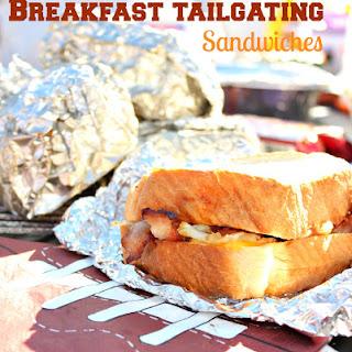 Tailgating Breakfast Sandwiches.