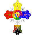 Rose Cross Rosicrucian Symbol Spiritual Symbolism icon