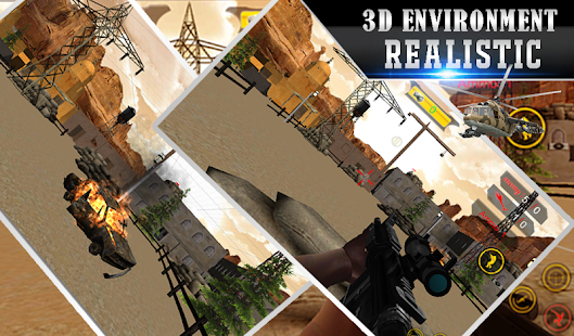 Lone Sniper Army Shooter 3D - náhled