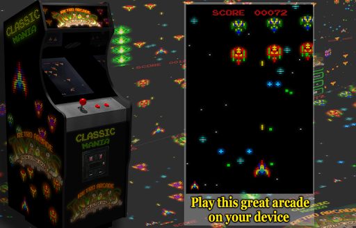 Retro Arcade Invaders - Space Shooter  screenshots 2