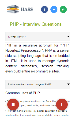 php|php tutorial- screenshot