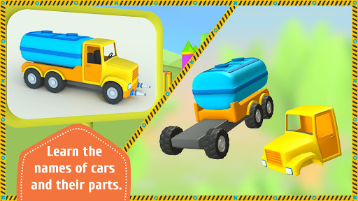 Leo the Truck and cars: Educational toys for kids screenshots 12