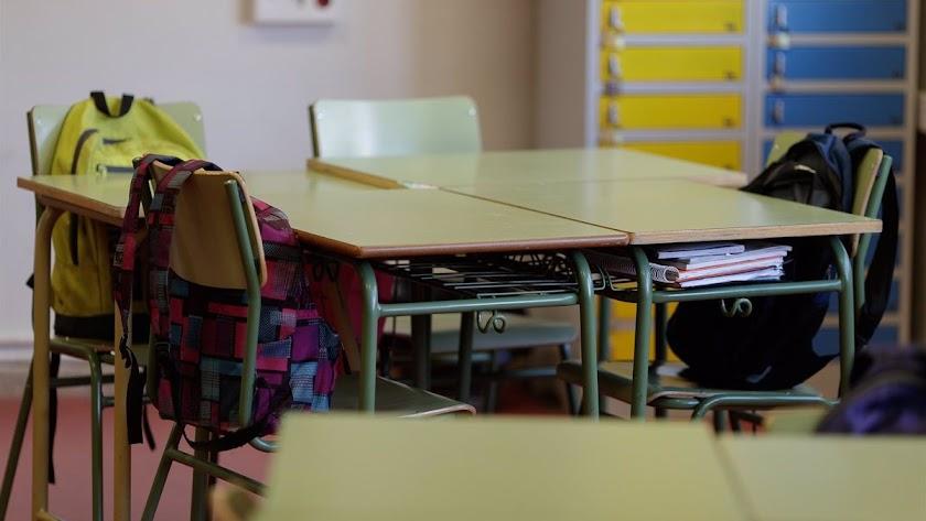 Las aulas cerradas en Almería no llegan al 1%.