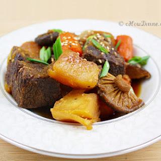 Korean Soy Sauce Braised Brisket