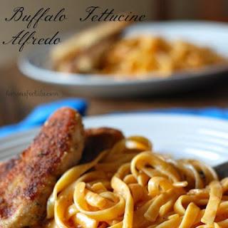 Chicken With Buffalo Fettucine Alfredo #backtoschoolweek