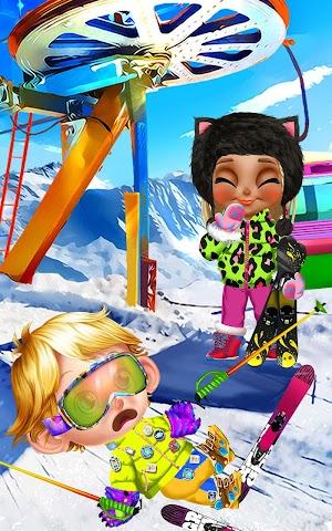 android Crazy Winter Trip - Ski Resort Screenshot 5