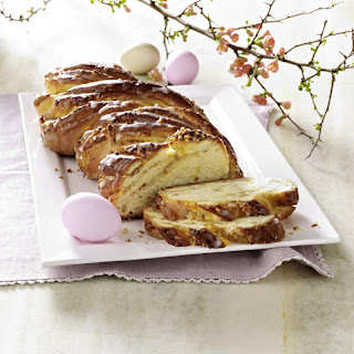 Braided Marzipan and Almond Bread