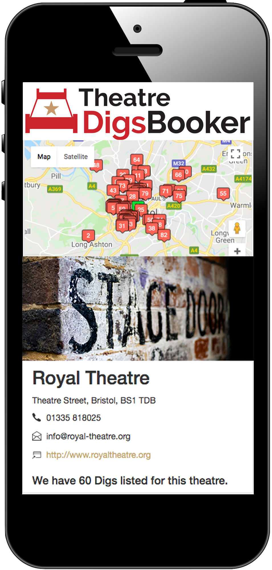 TheatreDigsBooker Online Digs Booking