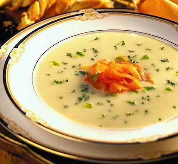 Vichyssoise With Smoked Salmon Recipe