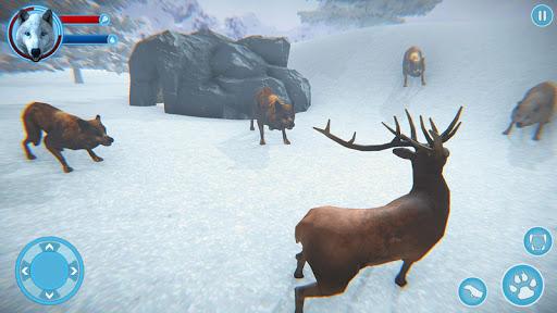 Arctic Wolf Family Simulator: Wildlife Games 5 screenshots 8