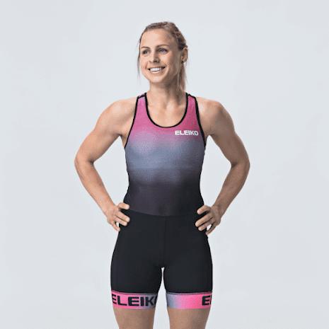 Eleiko Raise Lifting Suit-Women, Solar Pink
