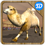 Camel Racing Simulator 3D Icon