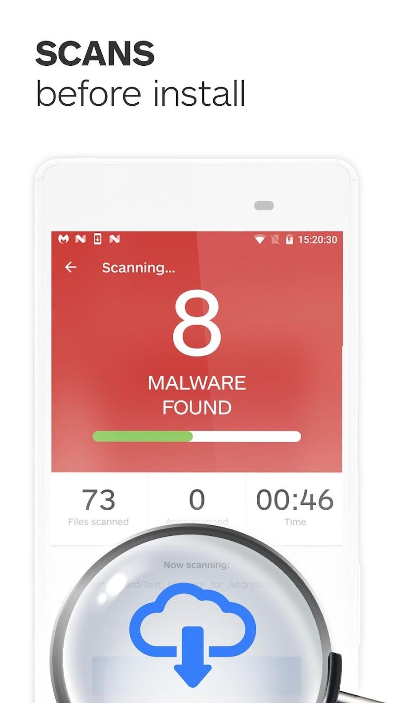 Malwarebytes Security: Virus Cleaner, Anti-Malware Screenshot 1