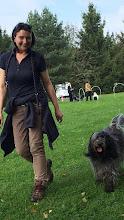 Photo: die Hoopers - Schnüffelstunde mit Sylvia hat Wilma und mir viel Spaß gemacht - danke Sylvia!